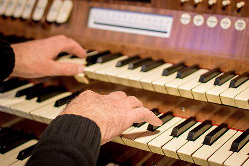 Organ, Church, Church Music, Organist, Piano, Ivory