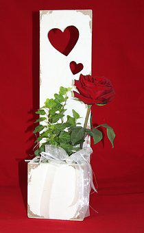 Rose, Red, Red Rose, Flower, Red Roses, Romantic