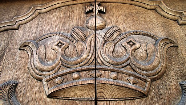 Crown, Coat Of Arms, Old, Ancient, Sculpture