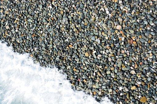 Texture, Background, Template, Stone, Sea, Sochi
