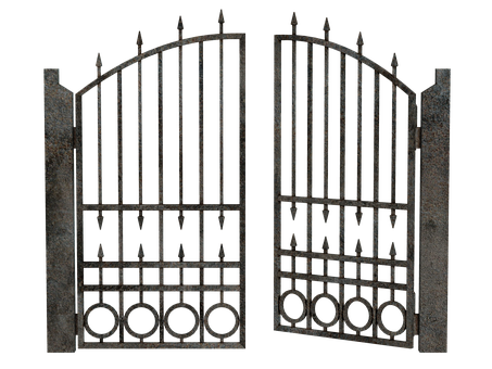 Gateway, Forged, Entrance, Gate, The Door