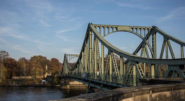 Bridge, Waters, Architecture, River, Sky, Travel