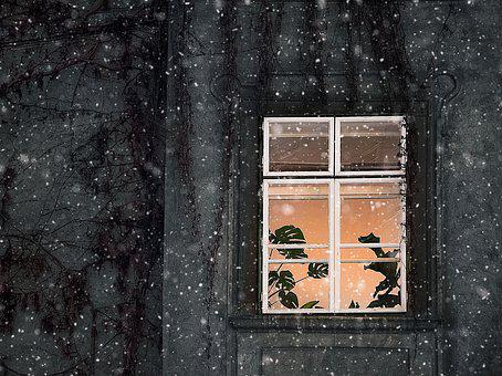 Wall, Architecture, Window, Building, Home, Winter
