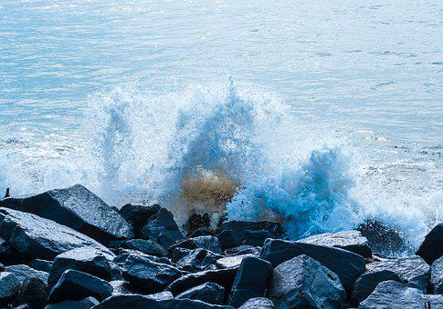 Water, Nature, Sea, Ocean, Outdoors, Wave, Rock