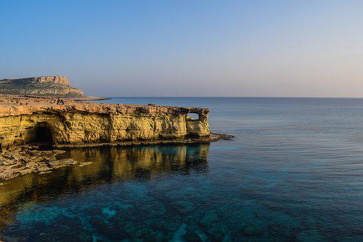 Cyprus, Cavo Greko, National Park, Cliff, Rock