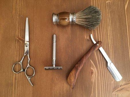 Tool, Wood, Wooden, Desktop, Barbershop, Barber