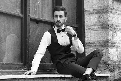 Folk, Adult, Single, Male, Sit, Portrait, Istanbul