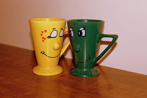 The Drink, Mug, Coffee, Tea, Fun Cups, Para