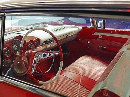 Chevrolet, Impala, Interior View, Steering Wheel