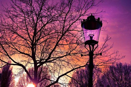 Lantern, Street Lamp, Retro, Classic Street Lamp