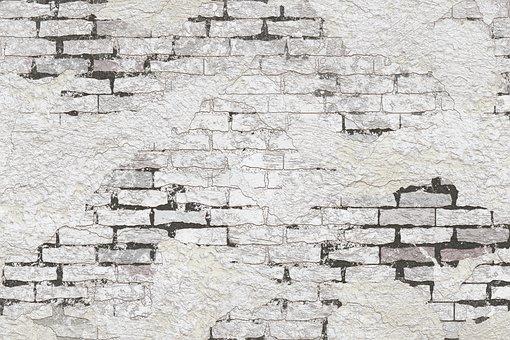 Plaster, Cracks, Old, Ailing, Brittle, Fracture, Grain