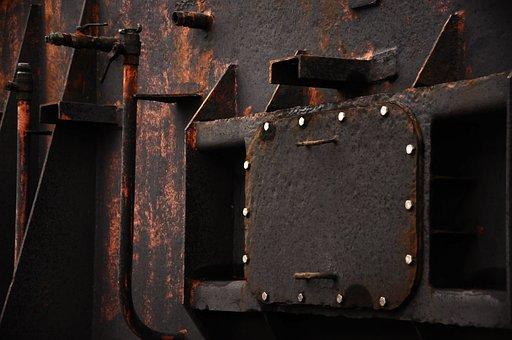 No Person, Industry, Steel, Rust, Metal, Port, Factory