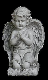 Angel, Sculpture, Art Stone, Decoration, Figure