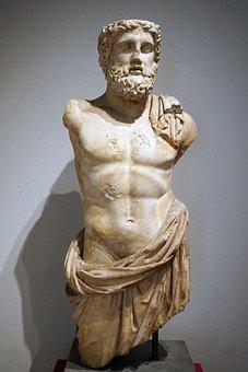 Sculpture, Statue, Art, Antiquity, Greece, God, Bart