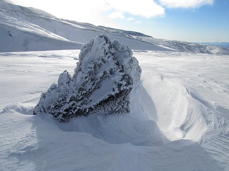 Winter, Snow, Cold, Leann, Wind, Frost, Mountains