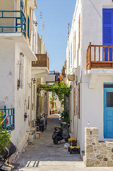 Street, City, Architecture, Megalopolis, House, Greece