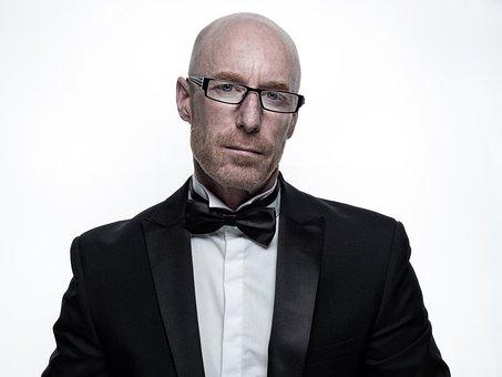 Man, Business, Fine-looking, Portrait, Tie, Suit