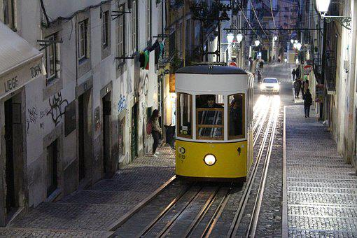 Street, Travel, City, Train, Tram, Urban, Town
