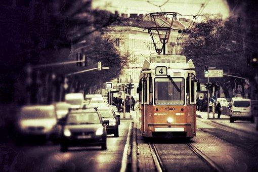 Transport, Vehicle, Traffic, Travel, Tram, City