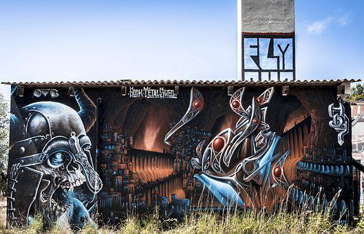 Tag, Urbex, Graffiti, Abandoned, Urban, Artistic