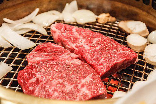 Kobe, Meat, Food, Beef, Grill, Barbecue, Wagyu