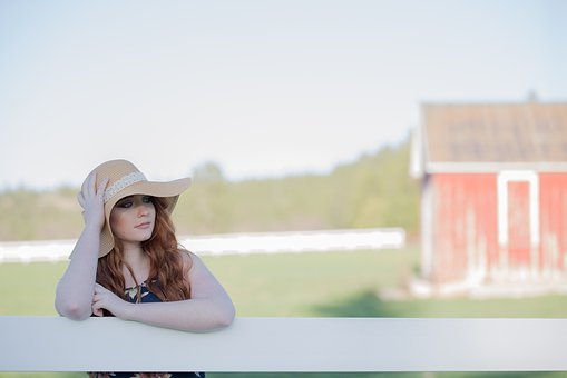 Summer, Nature, Outdoors, Woman, Sky, Beautiful, Grass