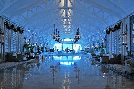 Travel, Modern, Company, Architecture, Reflection, City