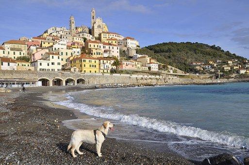 Waters, Sea, Costa, Travel, Panoramic, Liguria, Beach