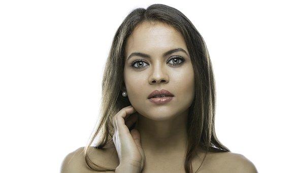 Woman, Beautiful, Young, Face, Desktop, Fashion, Skin