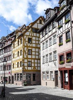 Architecture, Road, City, Building, Nuremberg