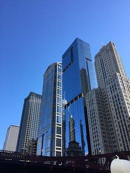 Architecture, Skyscraper, City, Office, Cityscape
