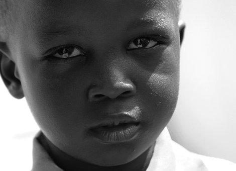 Portrait, People, Facial Expression, Child, Adult