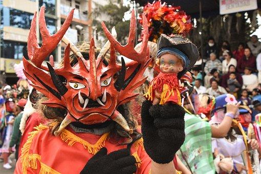 Festival, People, Parade, Celebration, Costume, Pillaro