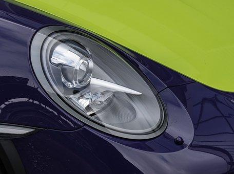 Auto, Porsche, Vehicle, Transport System, Drive, Speed