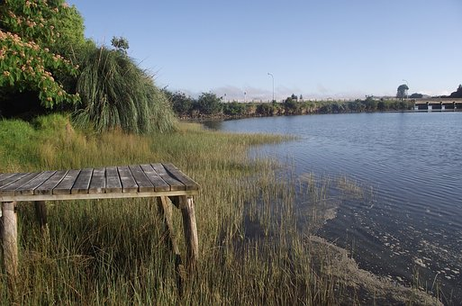 Water, River, Lake, Nature, Outdoors, Jetty, Landscape