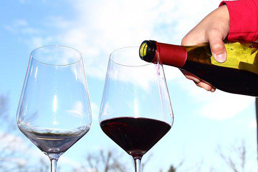 Wine, Drink, Alcoholic Beverage, Liquid, Bottle