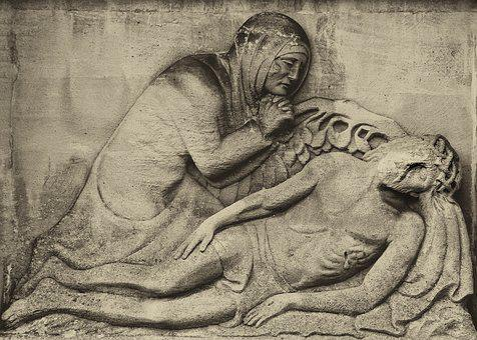 Art, Human, Relief, Christian, Religion, Image