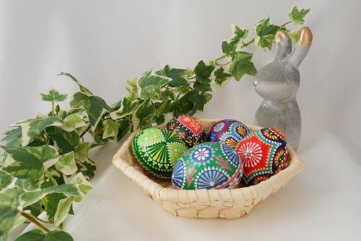 Easter, Ornament, Background, Egg Easter Egg