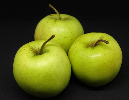 Apple, Golden Delicious, Fruit, Food, Freshness, Juicy