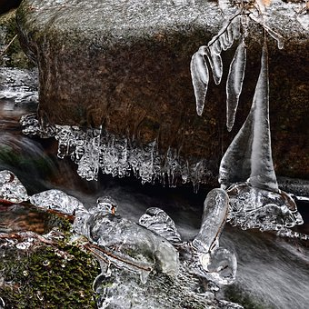 Water, Ice, Icicle