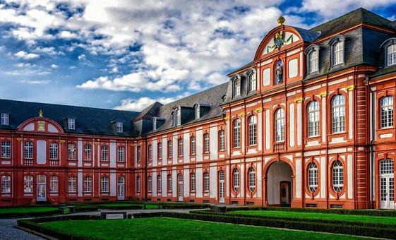 Monastery, Hof, Courtyard, Abbey, Masonry, Religion