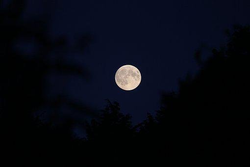 Moon, Lunar, Luna, Astronomy, Full Moon, Desktop, Sky