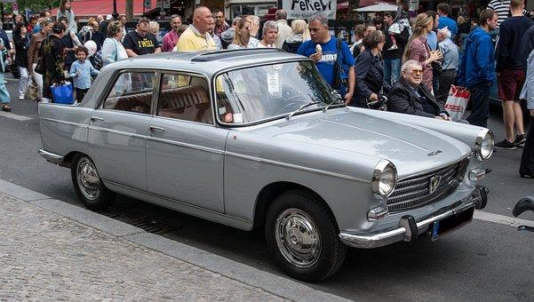 Auto, Peugeot, 404, Limousine, Vehicle
