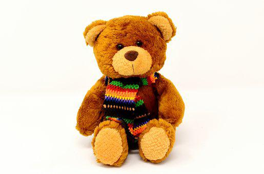 Teddy, Stuffed Animal, Teddy Bear, Soft Toy, Cute