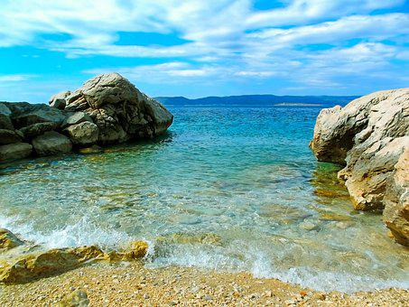Sea, Coast, Nature, Beach, Travel, Landscape, Stone