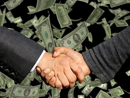 Conclusion Of The Contract, Handshake, Trade, Business
