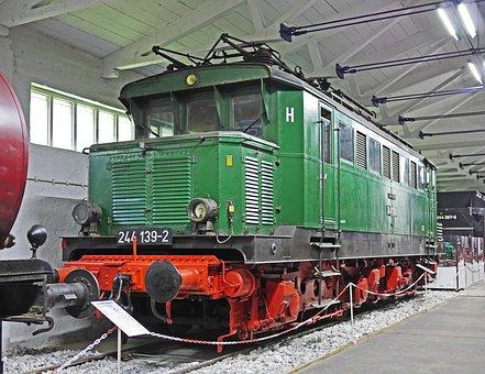 Electric Locomotive, Milestone, German Reichsbahn