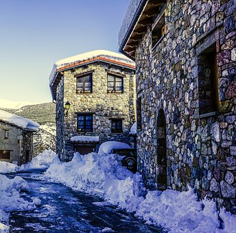 Winter, Snow, Travel, Architecture, House, Building