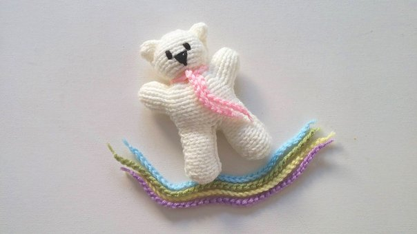 Knit, Knitting, Yarn, Wool, Teddy Bear, Pattern