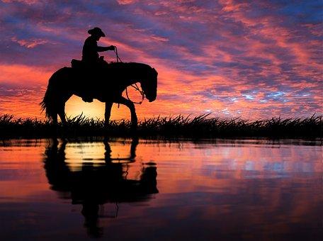 Sunset, Reflection, Dawn, Water, Lake, Landscape, River